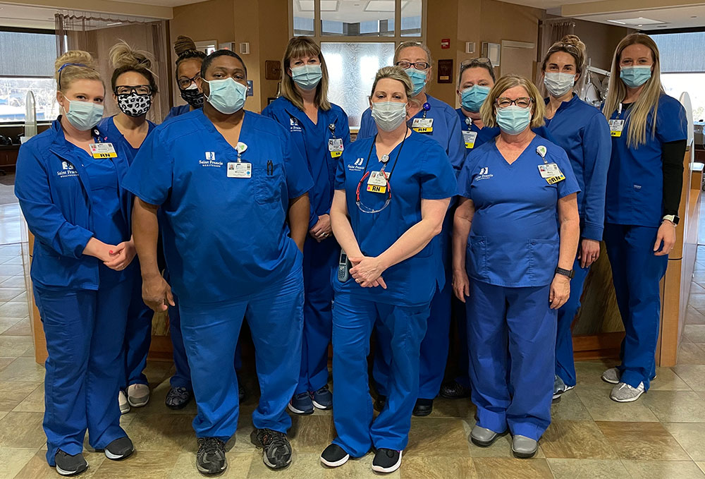 The Saint Francis Cancer Institute Infusion Center Team