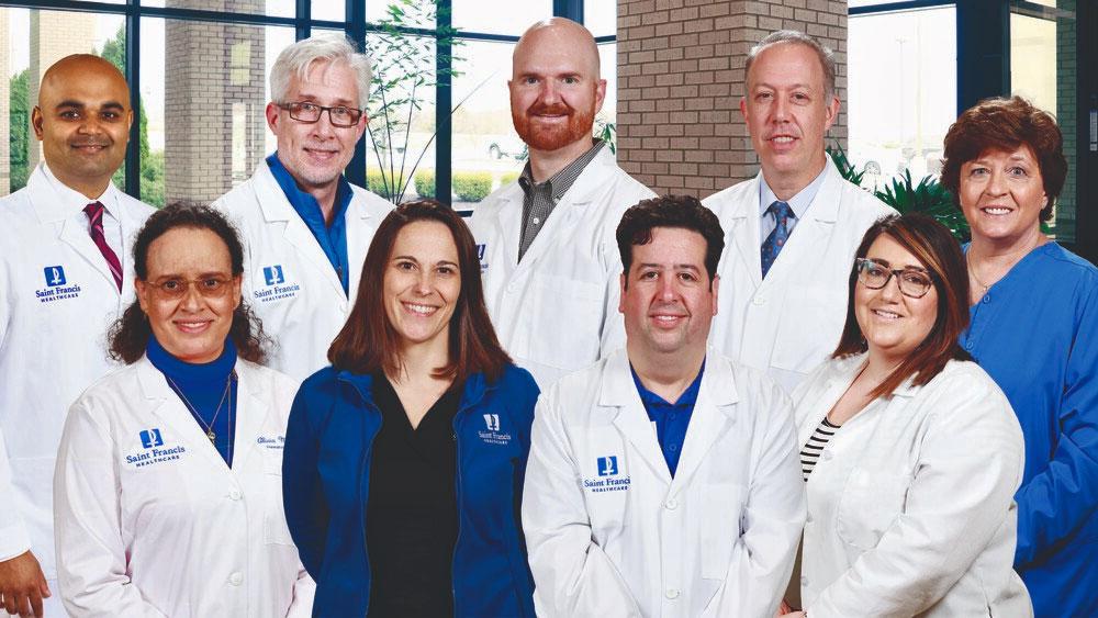The Saint Francis Cancer Services team