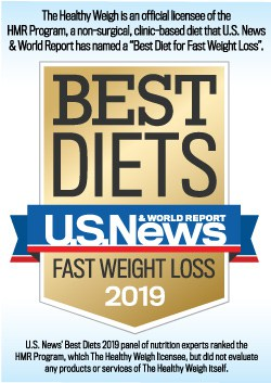 """The Healthy Weigh is an official licensee of the HMR Program, a non-surgical, clinic-based diet that U.S. News & World Report has named a """"Best Diet for Fast Weight Loss"""" for 2019"""