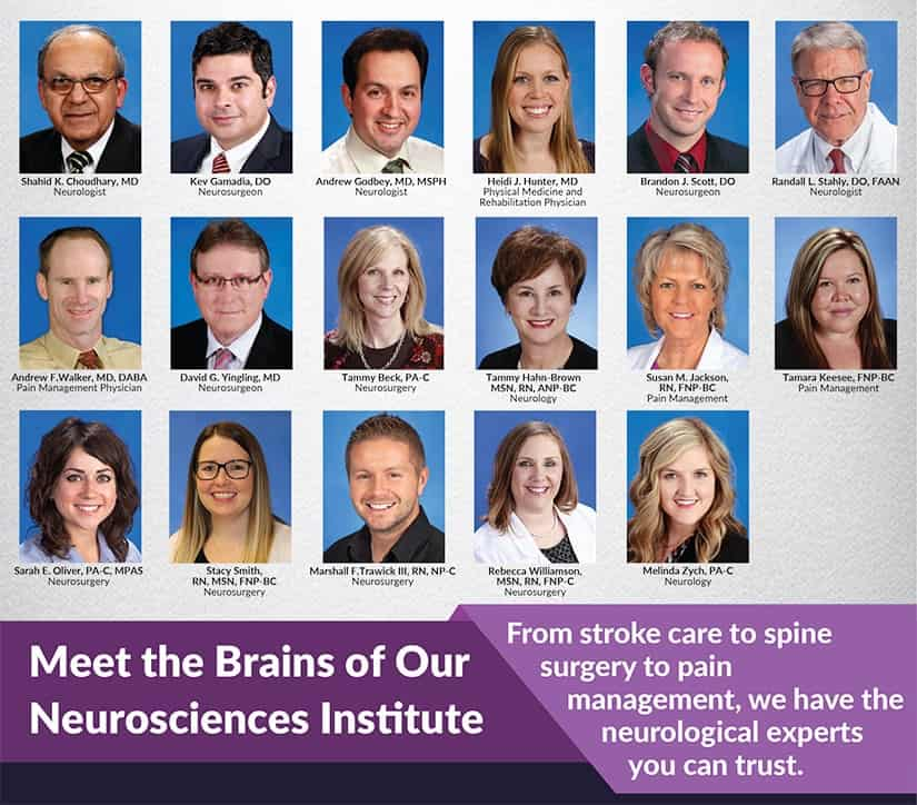 Meet the Brains of Our Neurosciences Institute