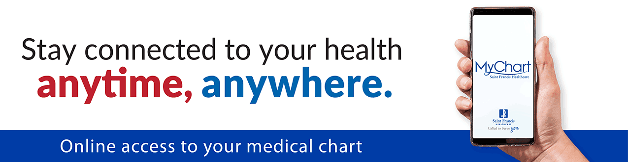 Stay connected to your health. Anytime. Anywhere. MyChart - Online access to your medical chart.