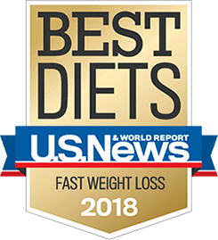 U.S. News and World Reports Best Diets for Fast Weight Loss, 2018