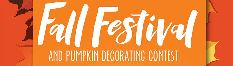 Fall Festival and pumpkin decorating contest