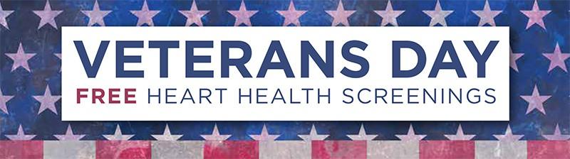 Veterans Day Heart Health Screenings