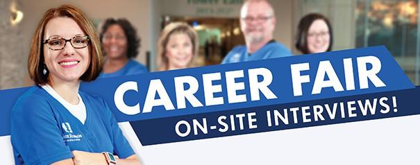 Career Fair - On-Site Interviews