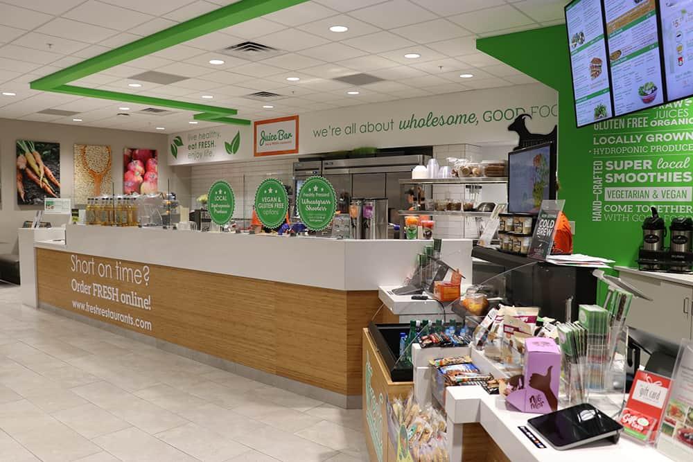 Fresh Healthy Cafe interior