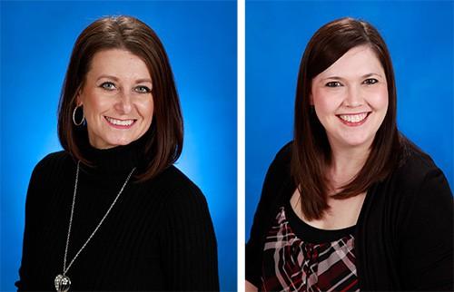 Amy Pennington, APRN, FNP-C and Lindsay McVey, FNP-BC