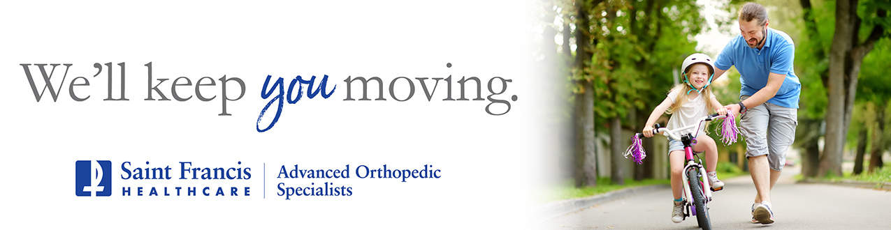 We'll keep you moving. Advanced Orthopedic Associates