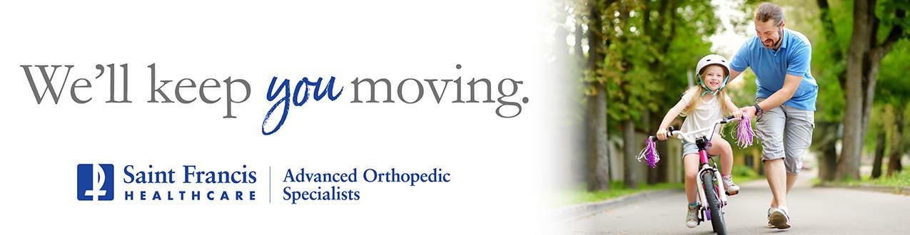 We'll keep you moving. Advanced Orthopedic Associates