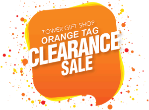 Tower Gift Shop Clearance Sale