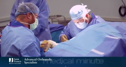Medical Minute: Dr. Brian C. Schafer and A Better Experience with Joint Replacement