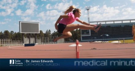 Medical Minute with Dr. James Edwards: Sports Medicine & Getting Athletes Back in the Game