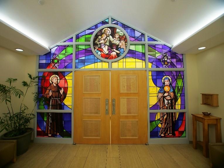 Exterior of the Saint Francis Medical Center Chapel