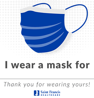 I wear a mask for...