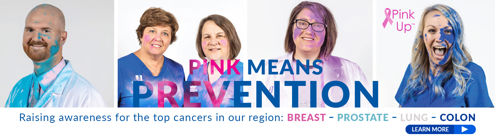 Pink Up - Pink Means Prevention!