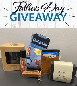 Inspire Boutique Fathers Day Giveaway items