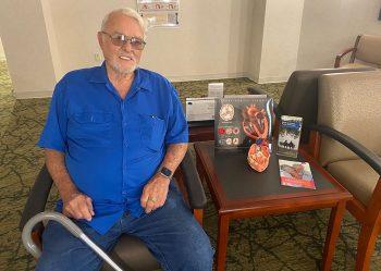 Jerry Parker, TAVR patient