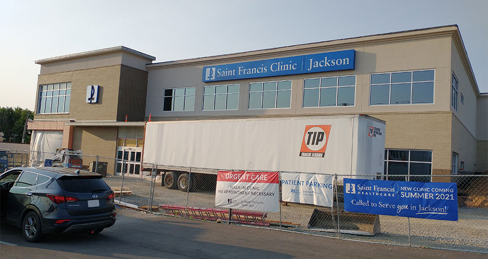 Saint Francis Clinic Jackson construction progress