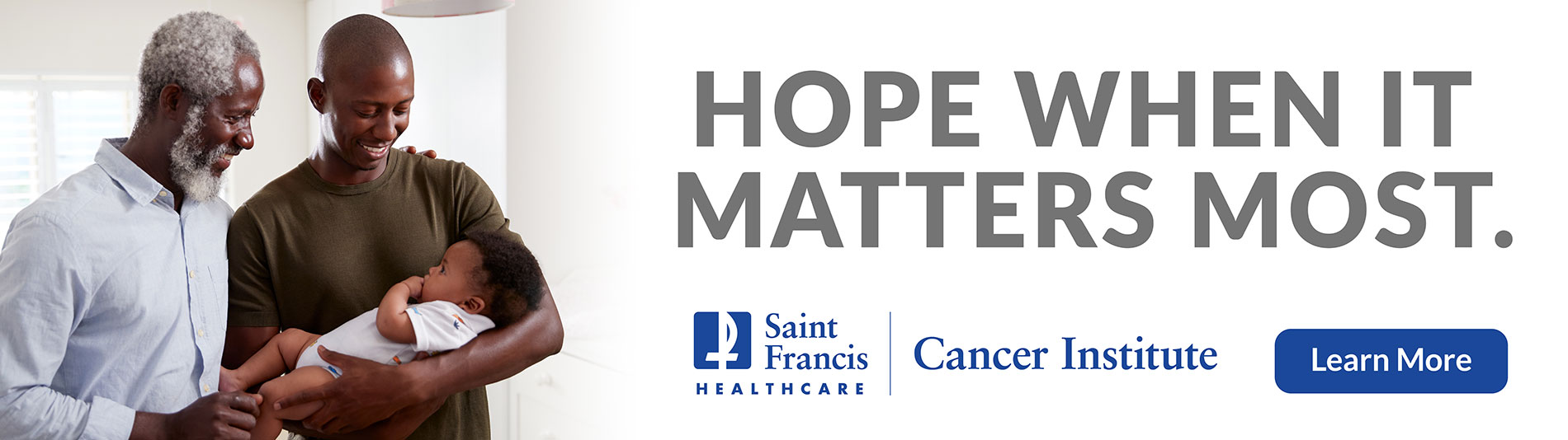 Cancer Institute - Hope When it Matters Most. Click to learn more.