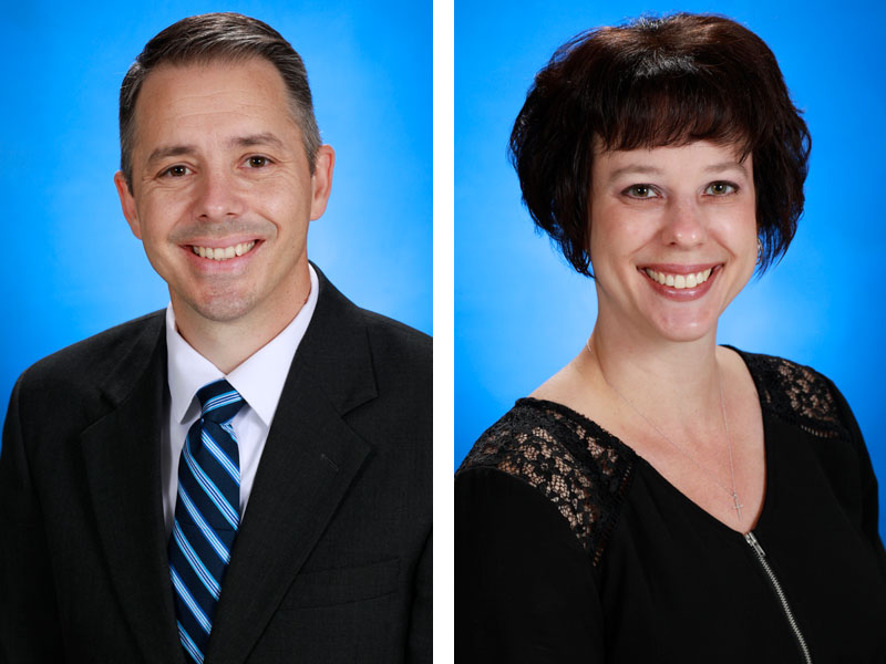 Jeff Hotop and Danielle Poyner